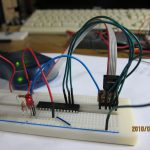 AVRプログラム書き込みの実験