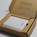 cheero Power Plus 3 モバイルバッテリーを購入しました