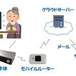 IoTの例:高齢者向け見守りシステム 【みまもり~な】の内部構成を公開!
